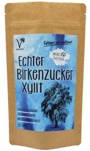 Genuine birch sugar Xylitol from Vollzucker