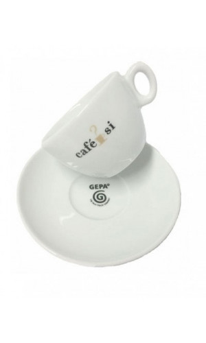Cafe Si Cappuccino cup
