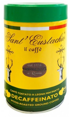 Sant Eustachio Decaffeinated can 250g ground can