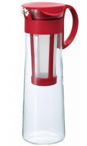 Cold Brew coffee pot Hario red 1000ml