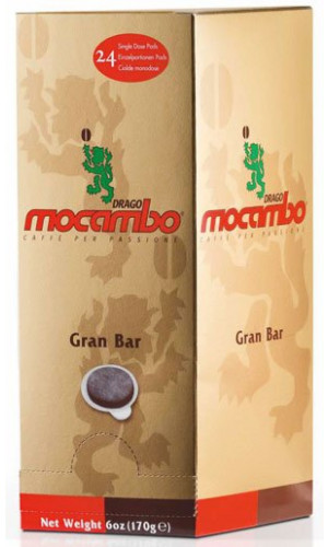 Mocambo ESE coffee pods Gran BAR