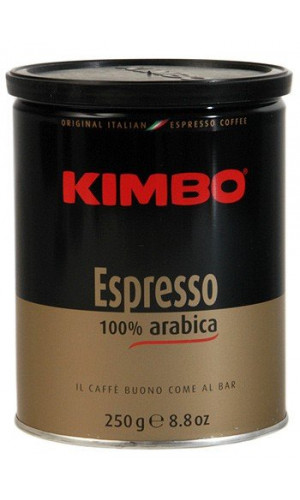 Kimbo coffee 100% Arabica ground