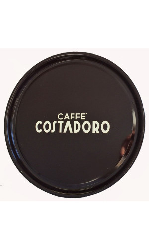 Costadoro round metal tray