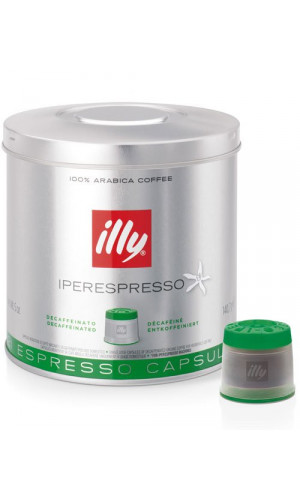 illy Espresso-capsules MIE-System, decaffeinated