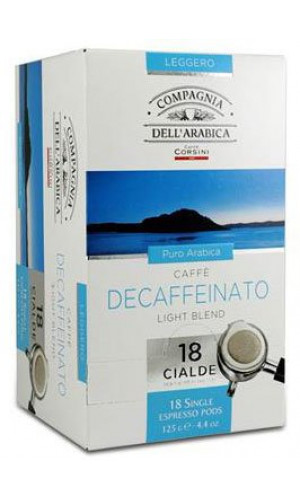 Compagnia dell Arabica decaffeinated Espresso pods