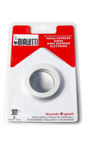 Bialetti - Gaskets and Filters, 2 Cups