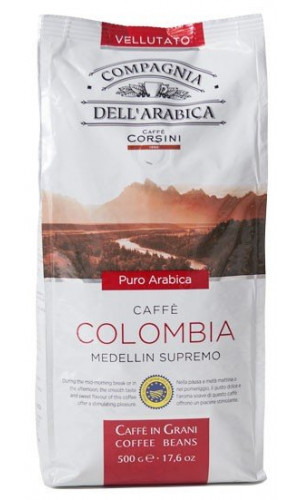 Compagnia dell Arabica Coffee Colombia 500g beans