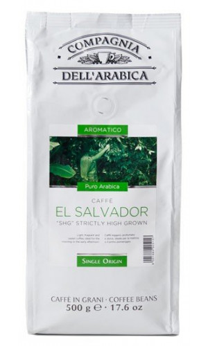 Compagnia dell Arabica Coffee El Salvador 500g beans