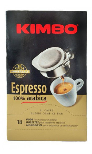 Kimbo coffee Espresso pods 100% Arabica