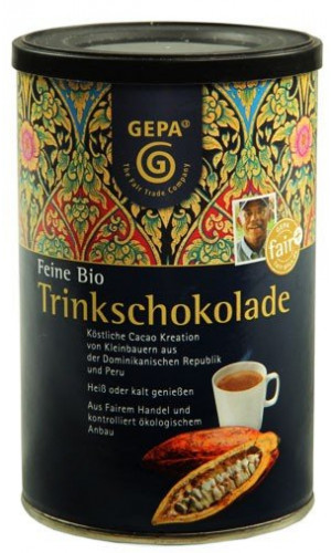 GEPA exquisite BIO Drinking Chocolate 250g can