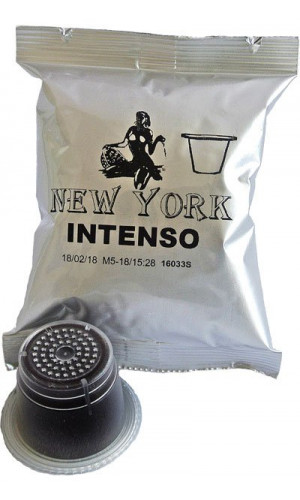 100 Caffe New York Intenso Nespresso®* compatible capsules