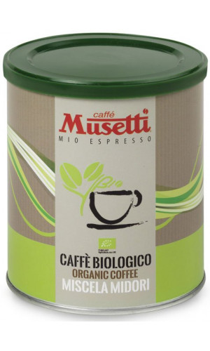 Musetti Espresso Organic 250g ground coffee