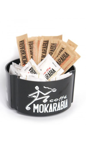 Black Mokarabia Sugar Box