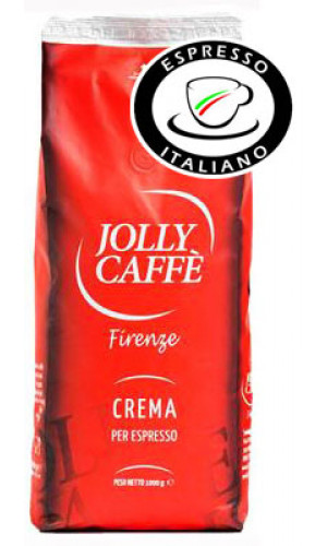 Jolly coffee Crema beans espresso italiano