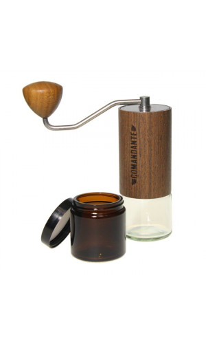Manual coffee grinder Comandante C40 - Wood