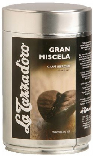 La Tazza d'oro Gran Miscela whole coffee beans