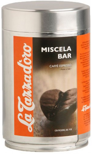 La Tazza d'oro Miscela Bar tin whole coffee beans