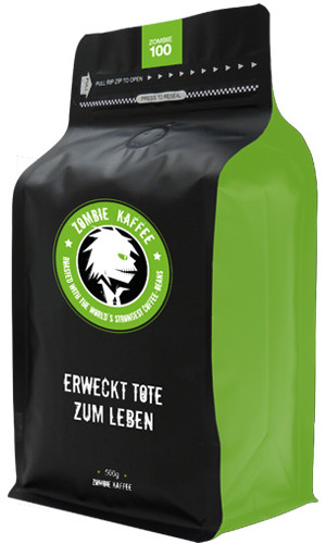 Zombie Espresso Coffee 100 - 500g Bean