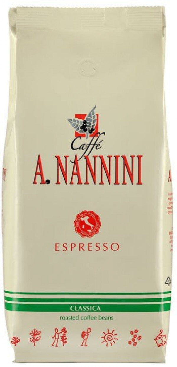 Nannini Coffee Classica bag with beans